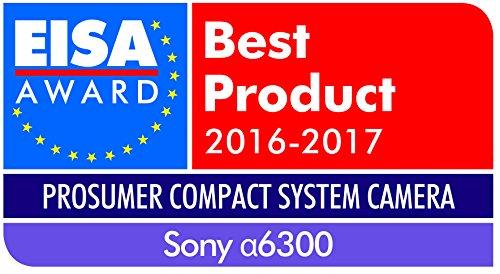 Sony Alpha 6300 E-Mount Systemkamera (24 Megapixel, 7,5 cm (3 Zoll) Display, XGA OLED Sucher, L-Kit 16-50 mm Objektiv) schwarz