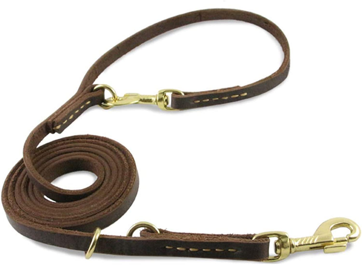 HATHOR23 Pet Leash Handmade Handmade MultiPurpose Pet Leashes Stretchable Dog Leather Dog Chain Tied Dog Rope Running Rope pet Leash