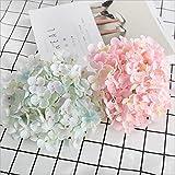19 cm grandes hortensias artificiales flores de seda para la boda decoración del partido del hogar barato falso flores accesorio de pared