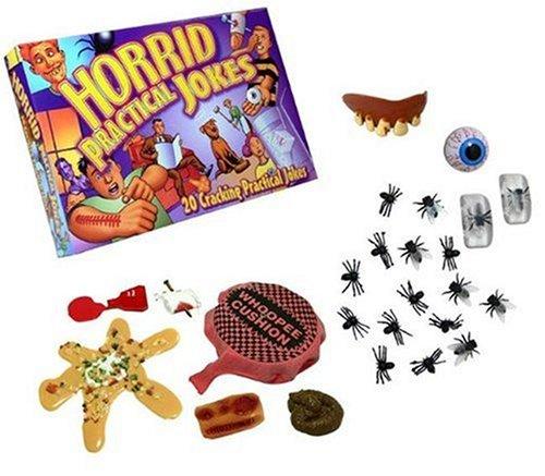 Drumond Park Horrid Practical Jokes Game   Children Action Prank Kit for Friendly Jokes to Family & Friends   Kids Tricks Based Game for Boys & Girls 8 Years and Up