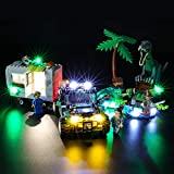 BRIKSMAX Led Lighting Kit for Baryonyx Face-Off: The Treasure Hunt - Compatible with Lego 75935 Building Blocks Model- Not Include The Lego Set