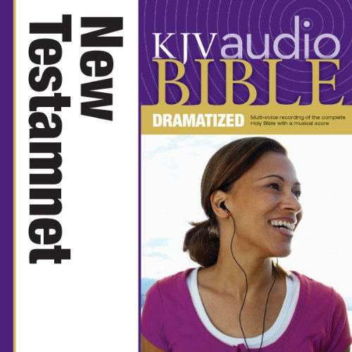 KJV, Audio Bible, Dramatized: New Testament, Audio Download audiobook cover art