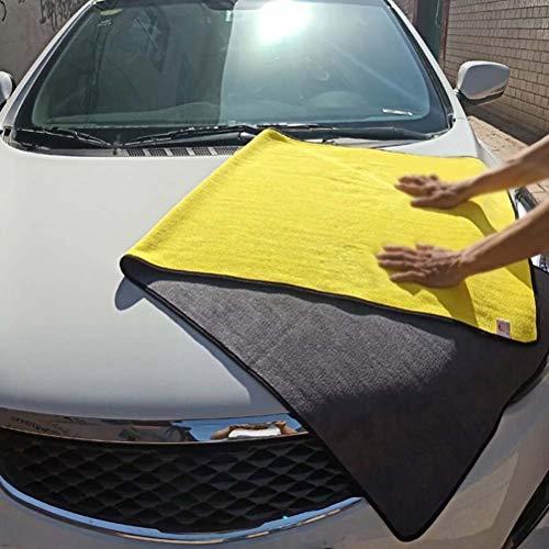 Accesorios para lavado de paños de secado de automóviles Toalla de limpieza para automóviles de microfibra súper absorbente Toallas de lavado de pulido de fibra