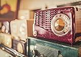 My Little Poster Poster Radio FM Frequenz Vintage Gerät