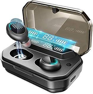 Bluetooth hörlurar in Ear Racokky hörlurar trådlös med 120 timmars speltid Bluetooth-hörlurar, äkta Bluetooth 5.0 trådlösa...