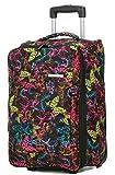 Handgepäck Trolley Bordgepäck Reisetasche Bunt Schmetterling 50 x36x20cm Bowatex