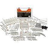 Wellmax 188pc Pegboard Hooks Accessories Assortment, Heavy Duty Peg Board Hook Set, Perfec...