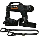 Fusion Climb Tactical Edition Adults Commercial Zip Line Kit Harness/Lanyard Bundle FTK-A-HL-02