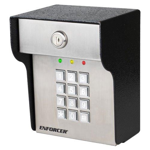 Seco-Larm Enforcer Heavy-Duty Access Control Keypad, Outdoor (SK-3523-SDQ)