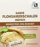 Avitale Ganze Flohsamenschalen in praktischen Portionssticks, 99% Reinheit, reich an Ballaststoffen, 270 g