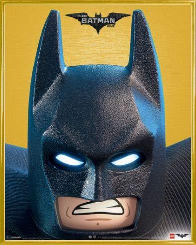 LEGO 1art1 Batman: La Película Póster Mini con Marco (Plástico) - I Only Work In Black (50 x 40cm)