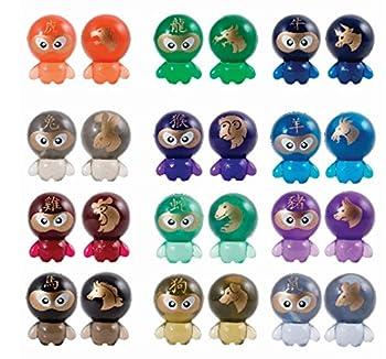 Bok Choy Boy Collectible Figures Series 4  Zodiac Series