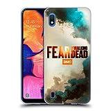 Head Case Designs Licenciado Oficialmente Fear The Walking Dead Colorada Posters Y Logotipo Carcasa de Gel de Silicona Compatible con Samsung Galaxy A10 (2019)