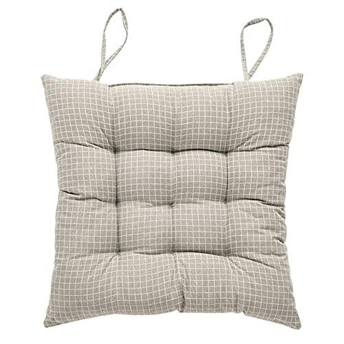 Cojines de silla con lazos para el hogar, habitación clásica, antideslizante, almohadillas para sillas al aire libre, patio, sofá
