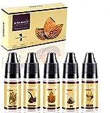 E Liquids 5 X 10ml,Tobacco Flavor for Vape E Cigarettes Starter Kit E