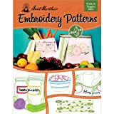Aunt Martha's Fruits and Veggies Embroidery Transfer Pattern Book, Over 25 Iron On Patterns