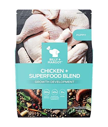 Billy and Margot Puppy Food Farm Raised Chicken 9kg
