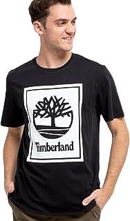 Timberland mens YC Stack Logo Tee (Regular) T-Shirt