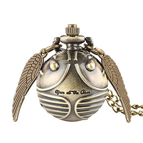 orologio da taschino oro Harry Potter orologio da tasca al quarzo