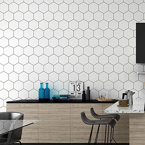 KUNHAN Tegel sticker Zelfklevend behang keuken badkamer waterdichte muur betegeling stickers behang decoratie stickers vloer stickers vloer stickers antislip