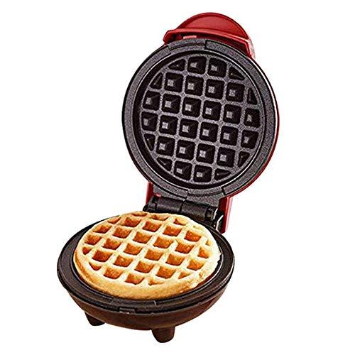 Mini wafelijzer, Elektrische wafelijzer, Anti-aanbaklaag, Dubbelzijdig Verwarming, makkelijk te gebruiken, een goede keuze for bakkerijen, restaurants, kantines, Etc.