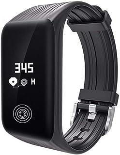 Reloj Inteligente Inteligente Reloj Inteligente Reloj Inteligente Moda Pulsera Bluetooth Impermeable del Ritmo cardíaco Reloj de Pulsera