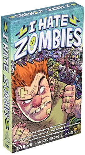 I Hate Zombies Board Game by Steve Jackson Games