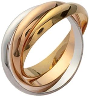 18 carats Amara OZ Gold Bague femme ISADY - Oxyde de Zirconium Plaqu/é Or 750//000