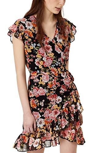 Liu-Jo CA0207T2383 - Vestido de mujer, color negro Fiori Fondo Nero 40