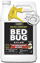 HARRIS Bed Bug Killer, Toughest Liquid Spray with Odorless and Non-Staining Extended Residual Kill Formula (Gallon)