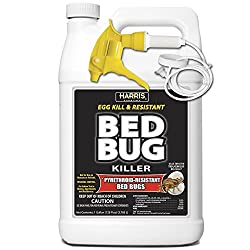 top rated HARRIS Bed Bug Killer, the hardest liquid spray with increased residue, odorless and clean … 2021