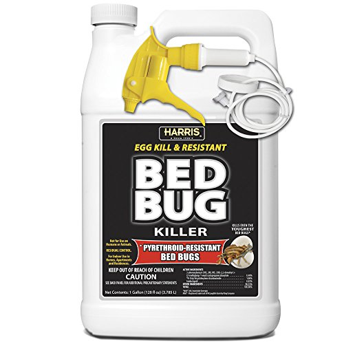 HARRIS Bed Bug Killer, Toughest Liquid Spray with Odorless...