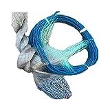 WCY Calze a Rete H1.7m L30m 3layer 2,5 Centimetri Mesh da imbrocco Pesca Rete Rete da Pesca Galleggiante Rete da Pesca Accessori for la Rete dei Pesci yqaae