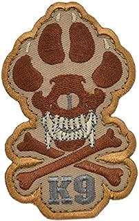 Skull & Crossbones K9 Patch
