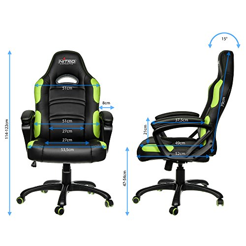 Nitro Concepts C80 Comfort Gaming Stuhl kaufen  Bild 1*