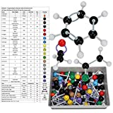 Molecular Model Kit for Organic and Inorganic Chemistry 267 Pcs, Atom Link Model
