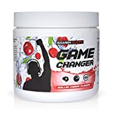 Gaming Booster GAME CHANGER von GAMER SUPPS | eSports Energy Drink Pulver | Wenig Kalorien | Wenig Zucker | 280g | 40 Portionen
