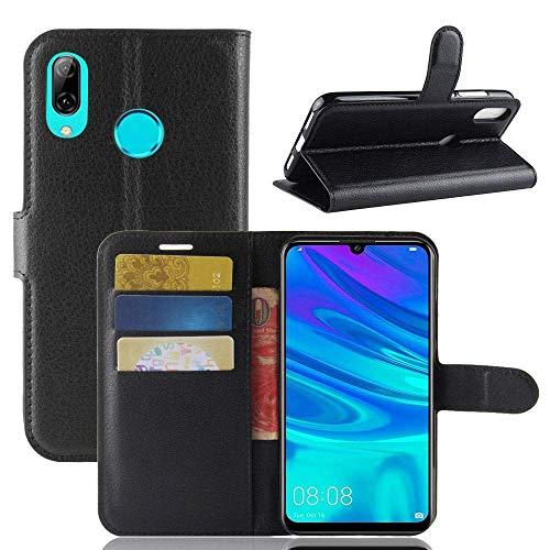 Capa Capinha Carteira 360 Para Huawei P30 Lite Tela De 6.15Polegadas Case Couro Flip Wallet P 30 - Danet (Preto)