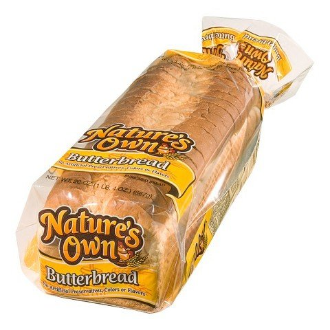 Natures Own Butter Bread 20 Oz