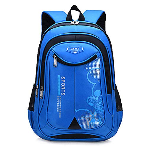 CLOUD Student Schoolbag New Large-capacity Travel Backpack For Boys And Girls Children's Laptop Rucksack sky blue-Small 30x 16 x 42 cm