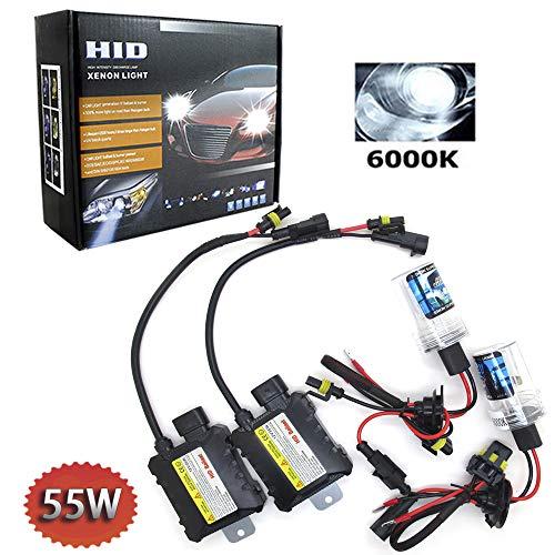 Boomboost 55W Kit de luz HID Xenón 6000K H1 HID Xenon Bombilla Lámpara Kit de Conversión Lastre 12V