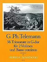 TELEMANN - Trio Sonata en Sol Mayor (TWV:42/b 5) para 2 Violines y Piano (Pauler/Hess)