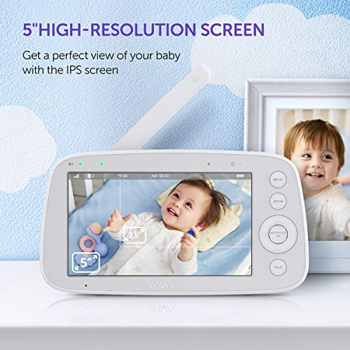 51lt377LJAL 12 Best Baby Monitors Under $150–$200 Review [Updated 2021]