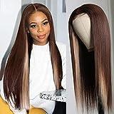 Nadula Hair T Part Highlight Wig Human Hair...