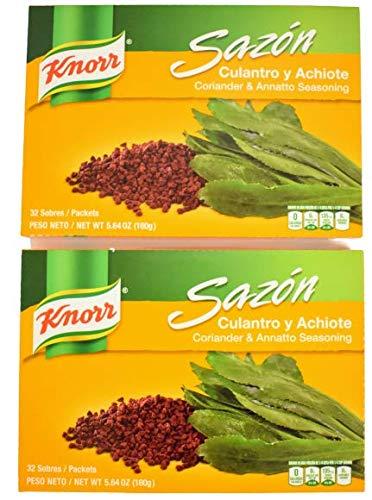 Knorr Sazon Seasoning Coriander Free Shipping New y Culantro Super intense SALE Annatto Achiote