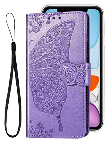 stilluxy 11 Pro Max Case Butterfly Wallet Compatible with Apple iPhone 11Promax Cover Kickstand Card Holder 11 promax Folio flip Cases 11pro Max Stand Skin Protective Bumper 6.5 inch