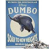 CHDBB Rompecabezas de 1000 Piezas para niños Adultos Dumbo Rompecabezas...