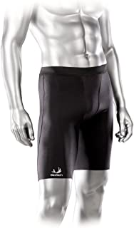 Compression Shorts - Enhance Recovery and Performance. Relieve Pain from Groin, Hamstring, and Quad Injuries - By BioSkin (Large)