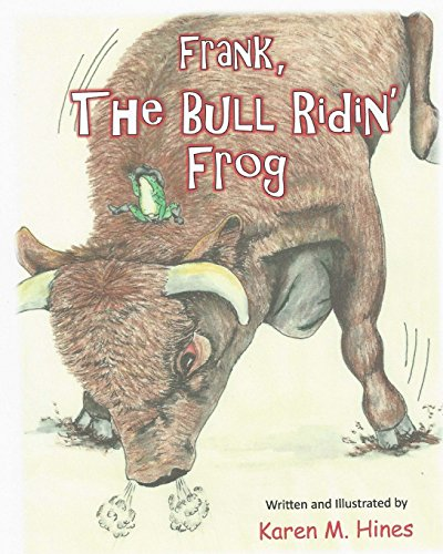 Frank, The Bull Ridin' Frog