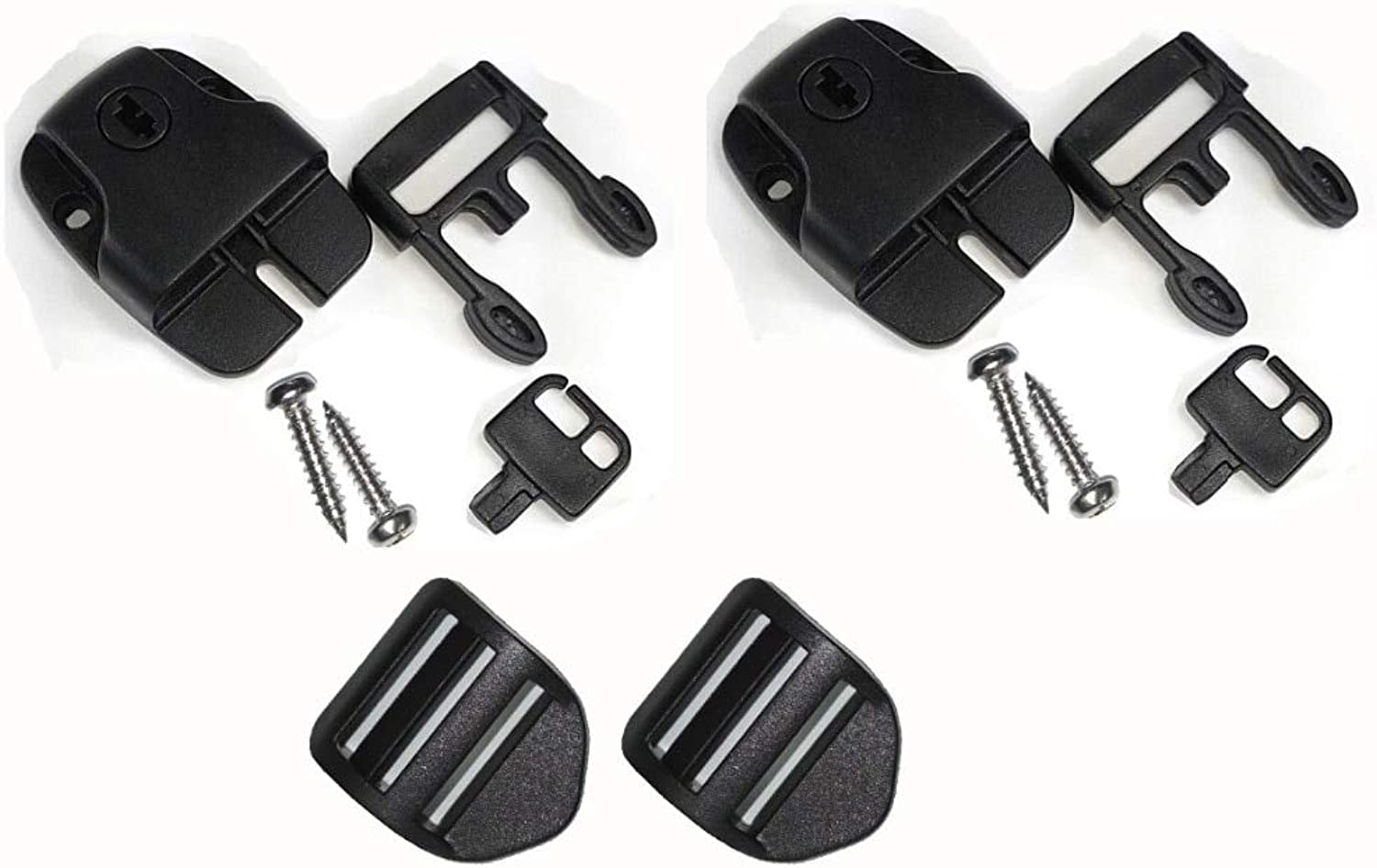 Hot Tub Spa Cover Latch Repair Kit, Safety Buckle Latch Pool
